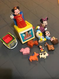 VIntage  toy lot $25 firm. Millwoods