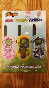 Walkie Talkie for kids 3x Vancouver