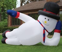 10 Foot Lounging Inflatable Snowman  Kleinburg, L4H 4A3