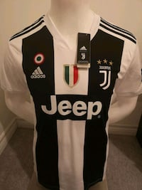 Brand new in tags JUVENTUS 2019 Home Jersey!   Mississauga, L5B 4M9
