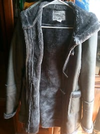 gray and white fur coat Dearborn, 48126