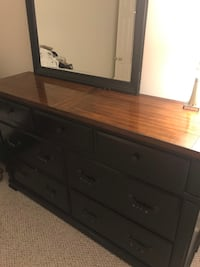 Large Ashley Bedroom Dresser and mirror Montclair, 22025