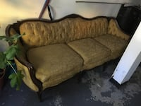 Victorian couch comes with matching chair