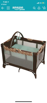 Graco pack and play in little hoot Hagerstown, 21742
