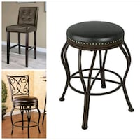 All bar stools are singles only, brand new Oshawa, L1J 6A8