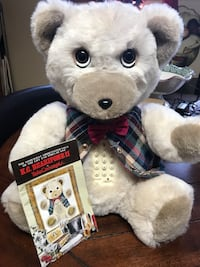 Vintage white and gray k.c. bearifone ii plush toy. Knoxville, 37938