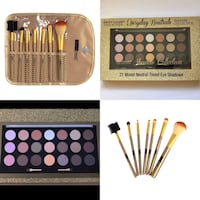 Eyeshadow collection & brushes bundle Crest Hill, 60441