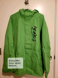 Analog Men Snow Jacket Medium Calgary, T2V 2X4