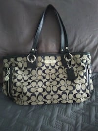 black and gray Coach tote bag Long Beach, 90813