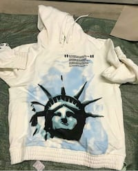 Limited Offwhite liberty hoody