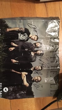 Real signed BlesstheFall poster Rye, 10580
