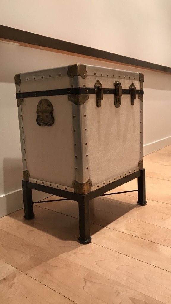 used pottery barn ludlow side table antique white for sale in new rh us letgo com