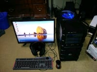 STARTER Gaming PC i5 8 gig ram gtx 760 2 gig