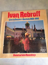 Two Ivan Rebroff records