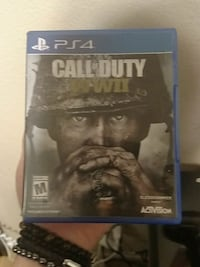 PS4 Call of Duty WWII case Bakersfield, 93313