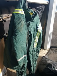Fire-retardant coveralls and jacket