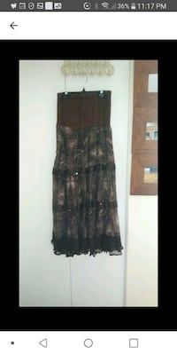 New Dress or long skirt one size