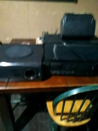 Teac home Stereo receiver w/speaker system