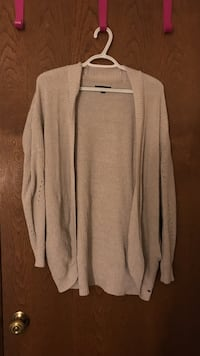 Beige long-sleeved cardigan Caledonia, 53126