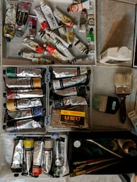 Oil Paints and Charcoal Ridgefield, 07657