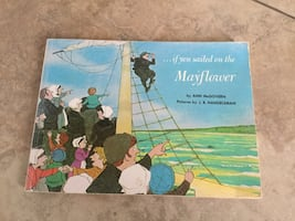 IF YOU SAILED ON THE MAYFLOWER.