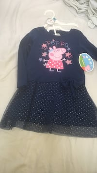 black and peppa print sweater and skirt Whittier, 90601