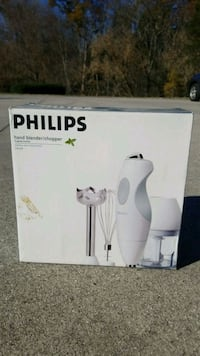 Brand new! Phillips hand blender and chopper. Knoxville, 37922