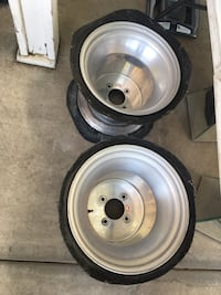 Aluminum Sand rail wheels. In great condition  Rancho Cucamonga, 91701