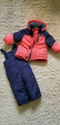 Winter snow pants and jacket