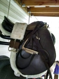 17 Dressage Saddle and other English Items! Cadet, 63630