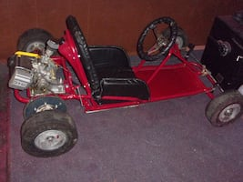 early 1960s mcculloch raceing go kart