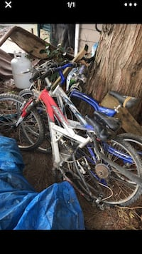 assorted-color bicycle lot 2331 mi