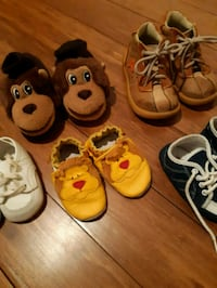 5 for $8 Baby shoes Robeez etc Toronto, M1M 3L7