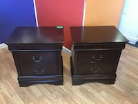 Brand New Dark Cherry Pair of Nightstands Virginia Beach, 23462