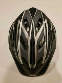 Bike helmet, bike gear, black, adult