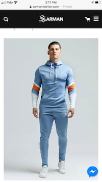 Sarman men's tracksuits for sale. Hoodies and pants for sale  Côte-Saint-Luc, H4V 2K3
