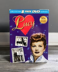 "LIKE NEW - ""Lucy"", Collector Series, 8 Pack DVD Box Set"