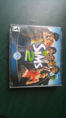 The Sims 2 PC CD case