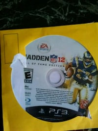 PS3 Madden 12 Hall of Fame Edition North Las Vegas, 89032
