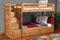 Bunk Bed with pull out bed  Clovis