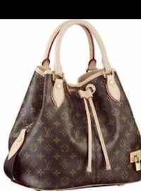 brown Louis Vuitton leather tote bag Sterling Heights, 48310