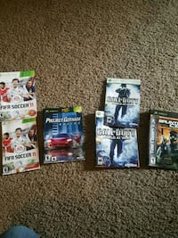 Game covers  Arvin, 93203