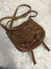 brown leather crossbody bag Hamilton, L8H 2E8
