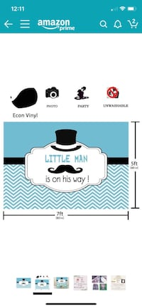 Little Man- Baby shower Vancouver, 98683