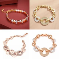 Gold plated bracelet price is for one  Henrico, 23238