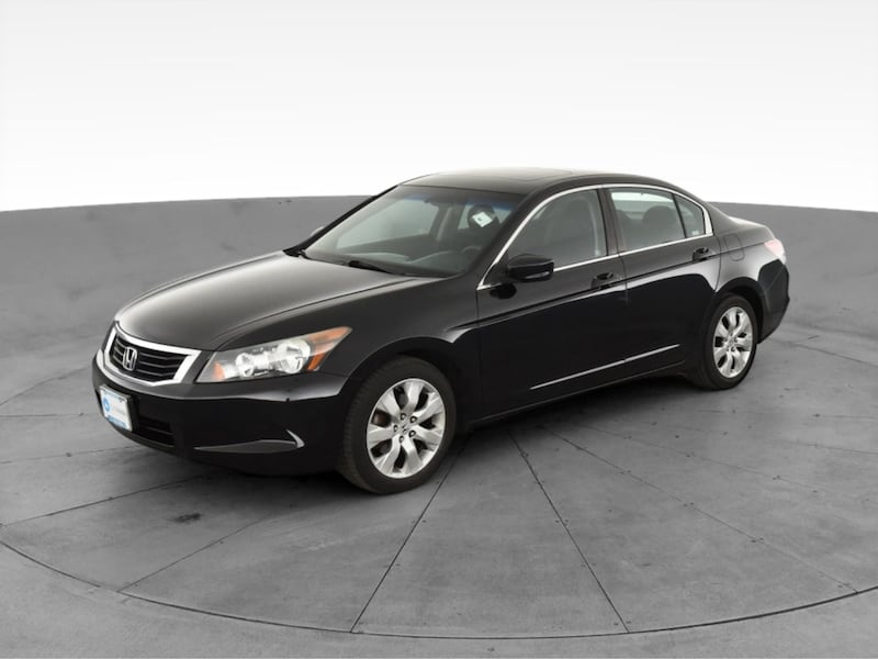 2010 Honda Accord sedan EX Sedan 4D Black  2