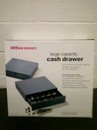 Office Depot Large Capacity Cash Drawer Independence