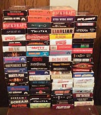 VHS movies 0.75 cents or $20 for all London, N5W 4V7