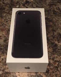 black iPhone 7 with box