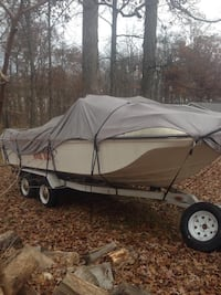 19ft Tri hull.  V8 inboard. Mercruiser out drive. Skis tube wake board and life vest included. Albion, 46701